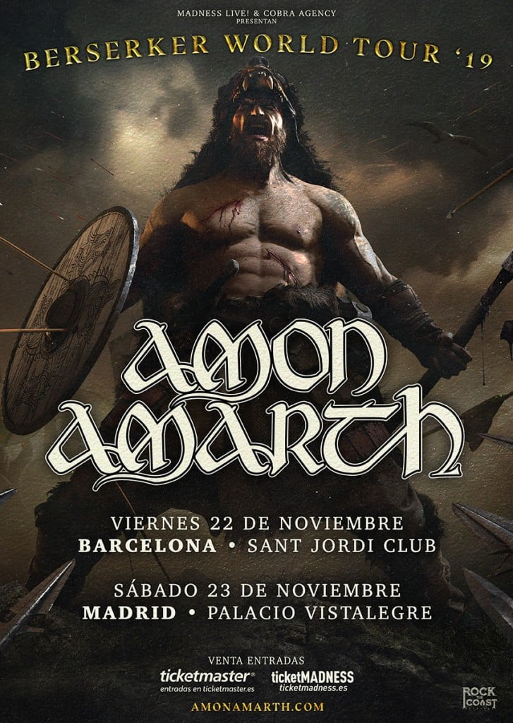 Amon Amarth Espana 2019
